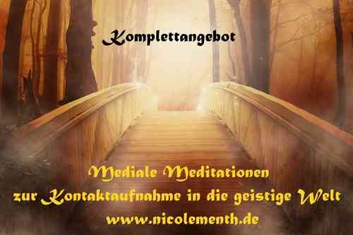 13 Mediale Meditationen - Komplettangebot - nur als MP3-Download